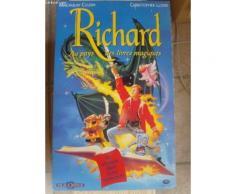 Affiche Richard Au Pays Des Livres Magiques - En Octobre Dans Votre Vidéoclub Avec Macaulay Culkin Et Christopher Lloyd