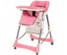 Chaise Haute Pour Bb/Enfant Grand Confort Rose