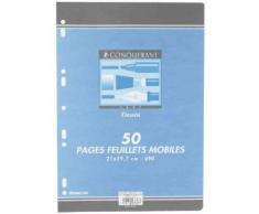 1 Paquet Feuillets Mobiles Dessin A4 50 Pages 120 G [Fournitures De Bureau]