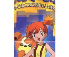 Un Poster De Pokemon. Les Champions De Johto. 2.