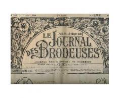 Le Journal Des Brodeuses N° 855 Du 1 Juin 1966. Sommaire: 1 Napperon, 1 Centre De Table, Serie De Lettres Pour Mouchoirs, Ecussons Toutes Tailles...