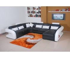items-france AREZZO XL - Grand canape cuir 7 places 382x300x197