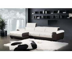 items-france SALAMANQUE - Canape cuir 4 places 294x176x95