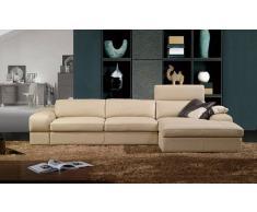 items-france CORDOUE - Canape cuir 5 places 305x172x91