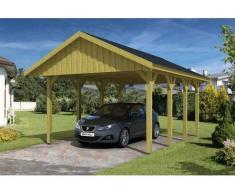 Direct abris Carport MILAN - 430 x 600 (voliges)