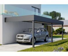 Direct abris Carport aluminium adosse Talis 3.5x6 m