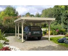 Direct abris Carport SILVERSTONE - 355 x 604