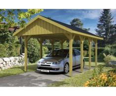 Direct abris Carport MILAN - 380 x 600 (voliges)