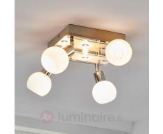 Plafonnier LED à sept lampes Evaletta