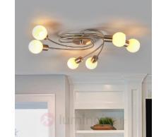 Magnifique plafonnier LED Seloma, à six lampes