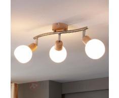 Beau plafonnier Svenka avec LED E14
