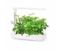 Klarstein GrowIt Flex Jardin hydroponique pour 9 plantes dà¯intérieur - Lampe de croissance LED - réservoir 2L - Kit hydroculture complet