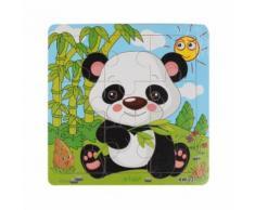 Panda En Bois Jigsaw Jouets Pour Enfants Education Et Apprentissage Puzzles Jouet