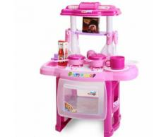 Rx1800-1 Jeux De Cuisine Pour Enfants Jouets De Cuisine Jouer Bébé Des Gamins Accueil Jouet Pédagogique - Rose