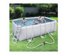 Piscine Tubulaire Rectangulaire 4,88 x 2,44 x 1,22 m - OOGARDEN