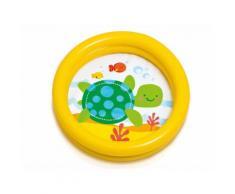 Piscine gonflable ronde pour bébé Motif Tortue