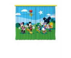 Disney Mickey Mouse -Set De 2 Rideaux Pour Chambre Enfant -180 X 160 Cm (2x 90x160cm)