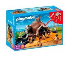 Playmobil History 5101 - Tente Préhistorique Avec Chasseurs