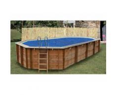 Bâche à bulles pour piscine octogonale 6,37 x 4,12 m - Sunbay