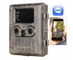 Caméra de chasse 950nm 12MP Numérique GSM MMS IR Trail Trail Scoutisme de Chasse, classement étanche: IP54