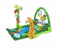 Baby Forest Gym Kit De Jeu De Musique Fitness Rack Floor Crawl Coussin De Tapis De Jeu Pour Enfants