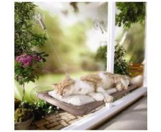 Hicollie@Hamac Siège Panier Lit Fenêtre Monté Ensoleillé Ventouse Chat Chien Chiot Animal
