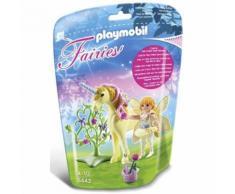Playmobil Fairies Fée Jardinière Avec Licorne Fleur