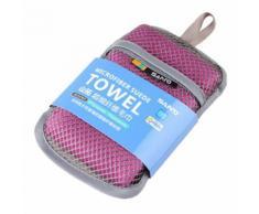 Microfibre Super Absorbant Et Séchage Rapide Serviette De Sport - Violet