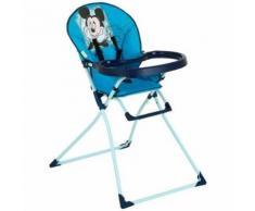 Hauck Chaise Haute Mac Baby Mickey Bleu Ii (639429)