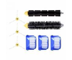 Filtre Brosse de rechange Kit d'accessoires pour Roomba 600 et robot de piscine @dfg1250