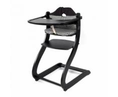First Baby Safety Chaise Haute Caya Noire