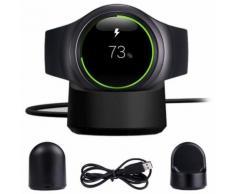 Dock Recharge Sans Fil Berceau Chargeur Pour Samsung Gear S2 720 730 732 Classique Bk De202