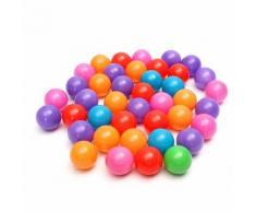 Tempsa 200pcs Multicolores Balles Plastique Piscine Jouet Pr Enfant Bébé