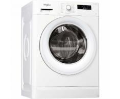 Whirlpool FWF71483W2 FR - Machine à laver - indépendant - largeur : 59.5 cm - profondeur : 57.5 cm - hauteur : 84.5 cm - chargement frontal - 52 litres - 7 kg - 1351 tours/min - blanc