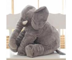 Peluche Bébé Éléphant Doux Sommeil Oreiller Grande Peluche Poupée Animaux
