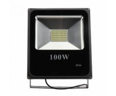 Lampe D'Inondation Projecteur Extérieur Imperméable De Sécurité 100W En Aluminium Smd Led