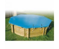 Bâche d'hivernage 470 x 820 cm pour piscine Ubbink - 550 g