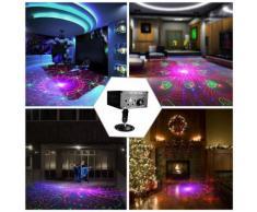5 trous 120 modèles lumière laser RGB DJ Projecteur Disco LED éclairage effet d'étape pour le divertissement à domicile