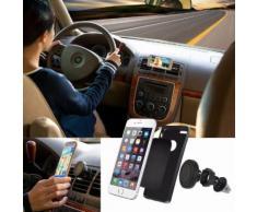 Decoration Vehicule Voiture Support Magnétique Air Vent Berceau Grip Magique Téléphone Portable Universel