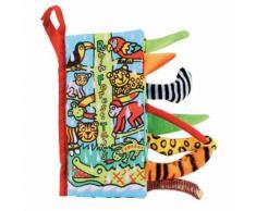 Tails D'animaux Livre En Tissu Jouets D'éducation Pour Bébés -Forêt Tropicale