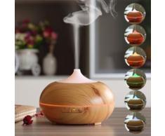 Wishes Mall 300ml Diffuseur d'Huiles Essentielles Aromathérapie Diffuseur Parfum