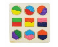 Puzzle 3d Jouet Jeux Casse-Tete Educatif En Bois Jouet Educatif Pour Enfant 01