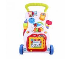 Poussette Canne Bébé Chariot Confortable Et Légère Pour 1-36 Mois Enfant