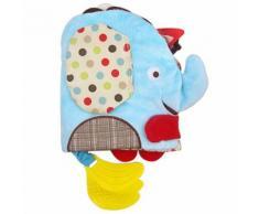 Éléphant Livre En Tissu Jouet Bébé