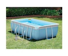Piscine tubulaire rectangulaire - 3,00 x 1,75 x 0,80 m