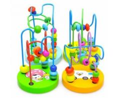 Yarui-World® Circuit Motricité Bois Boulier Éveil Jouet Éducatif Jeu Enfant Bébé Cadeau Modele Aléatoire