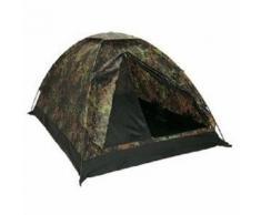 Tente De Camping Igloo 2 Places Camo Camouflage Flecktarn Etanche Miltec 14207021 Airsoft