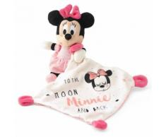 Doudou Souris Minnie Disney Baby Simba Toys Benelux Mouchoir To The Moon Minnie And Back Blanc Rose Noir Jouet Peluche Eveil Bebe Soft Toys Comforter Mouse