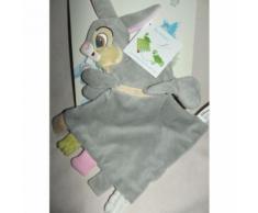 Doudou Plat Transformable En Peluche Lapin Pan Pan Panpan Disneyland Disney Baby Gris Jouet Bebe Naissance Peluche Éveil Comfort Blanket Comforter