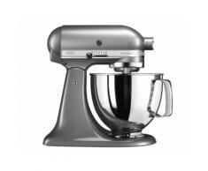 KitchenAid Artisan 5KSM125ECU - Robot pâtissier - 300 Watt - gris argenté